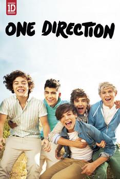 One Direction - album Plakat