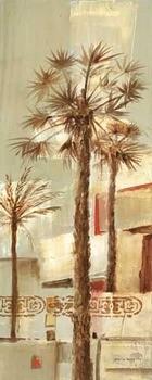 Palm Panel IV Kunsttryk