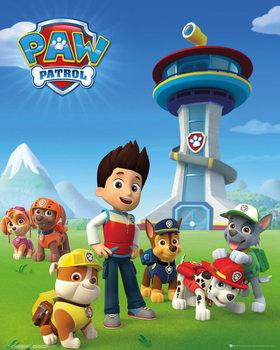 Paw Patrol - Team Plakat