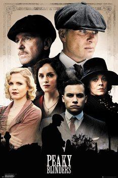 Plakat Peaky Blinders - Cast