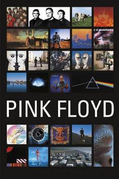 Pink Floyd - Collage Plakat