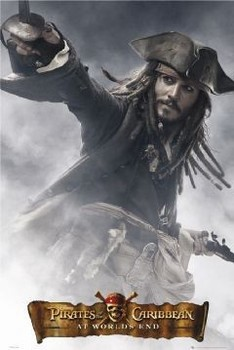 Pirates of Caribbean - Jack full Plakat