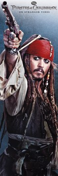 PIRATES OF THE CARIBBEAN 4 - jack Plakat