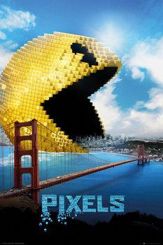 Pixels - Pacman Plakat