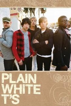 Plain White Ts Plakat