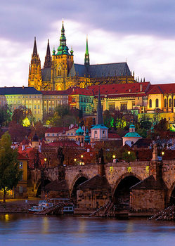 Prague – Prague castle Plakat