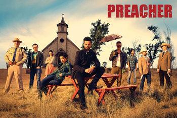 Preacher - Gruppe Plakat
