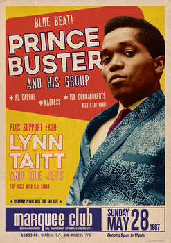 Plakat Prince Buster - Marquee Club 1967