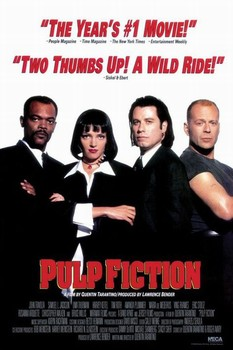 PULP FICTION - group Plakat