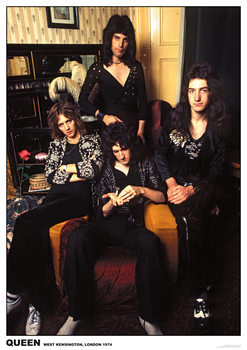 Queen - London 1974 Plakat