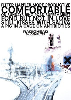 Radiohead – ok computer Plakat