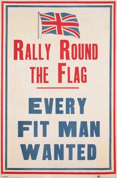Rally round the flag Plakat