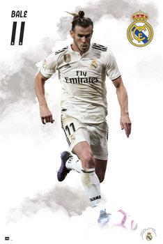 Real Madrid 2018/2019 - Bale Plakat