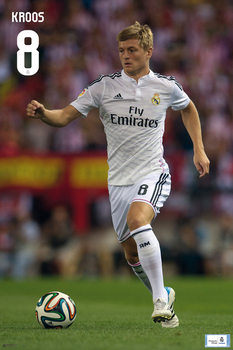 Real Madrid - Toni Kross Plakat