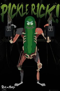 Plakat Rick and Morty - Pickle Rick