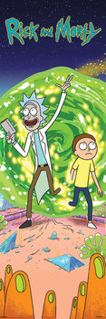 Rick and Morty - Portal Plakat