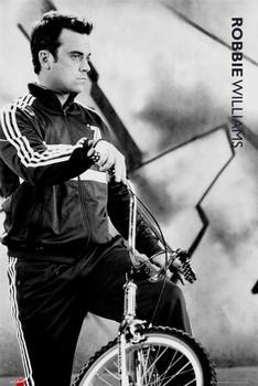 Robbie Williams - bmx Plakat