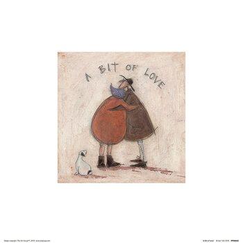 Sam Toft - A Bit of Love Kunsttryk