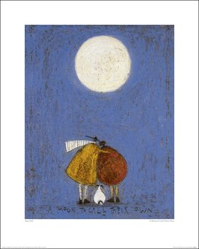 Sam Toft - A Moon To Call Their Own Kunsttryk