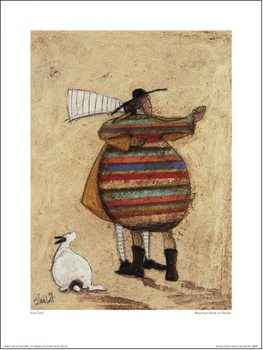 Sam Toft - Dancing Cheek To Cheeky Kunsttryk