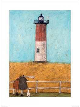 Sam Toft - Feeling the Love at Nauset Light Kunsttryk