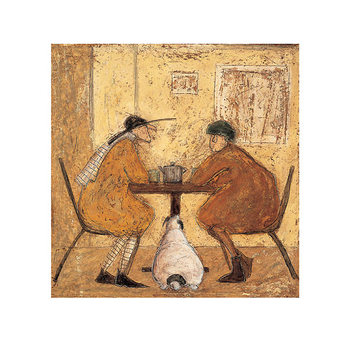 Sam Toft - Tea For Three Kunsttryk