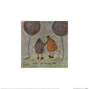 Sam Toft - With You By My Side Kunsttryk