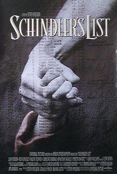 Schindlers liste - Liam Neeson, Ben Kingsley, Ralph Fiennes Plakat