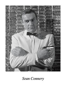 SEAN CONNERY Kunsttryk