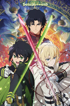 Seraph Of The End - Trio Plakat
