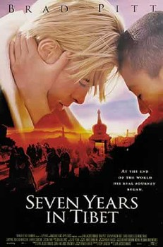 SEVEN YEARS IN TIBET  Plakat