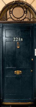 Sherlock - 221b Door Plakat