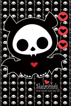 Skelanimals - diego the bat Plakat