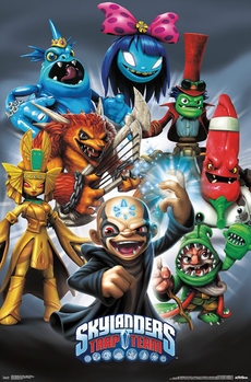 Skylanders Trap Team - Baddies Plakat