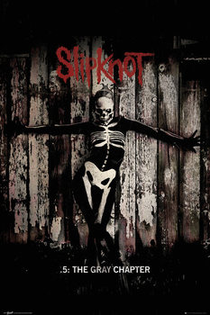 Slipknot - The Gray Chapter  Plakat