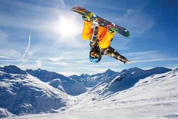Snowboard - Flip Plakat