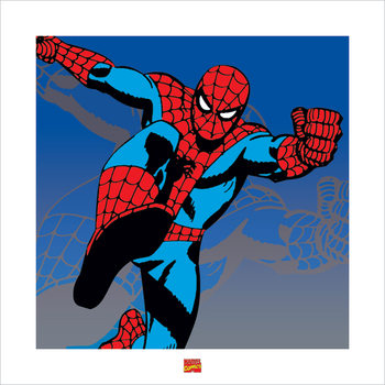 Spider-Man - Marvel Comics Kunsttryk