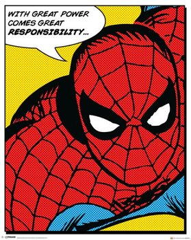 Spider-Man - Quote Plakat