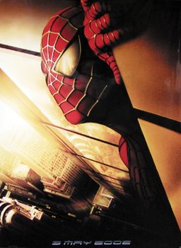 Spider-Man - The Movie 2001 Teaser Plakat