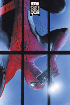 Spiderman - 80 Years Plakat