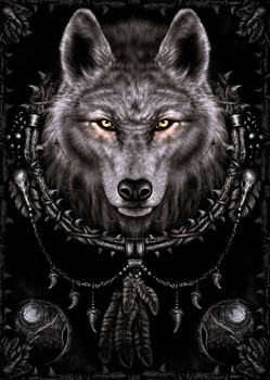 Spiral - wolf dreams Plakat