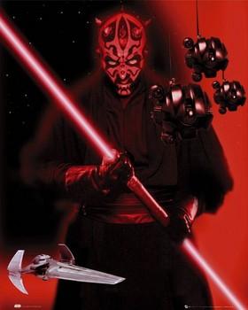 Star Wars - darth maul Plakat