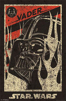 STAR WARS - darth vader Plakat