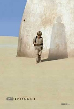 STAR WARS EPISODE 1 - teaser Plakat