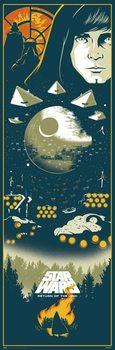 Plakat Star Wars Episode VI: Jediridderen vender tilbage