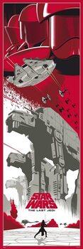 Star Wars: Epizode VII - The Last Jedi Plakat