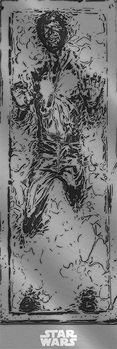Star Wars - Han Solo Carbonite Plakat