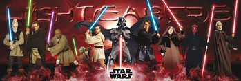 STAR WARS - lightsabers Plakat