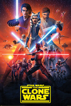 Plakat Star Wars: The Clone Wars - The Final Season