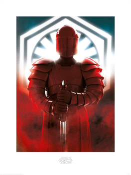 Star Wars: The Last Jedi -Elite Guard Defend Kunsttryk